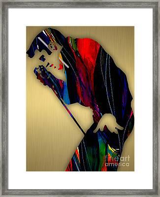 Elvis Presley Collection Framed Print