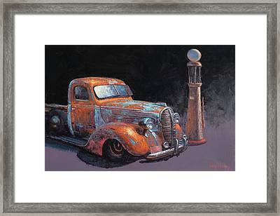 38 Fat Fender Ford Framed Print