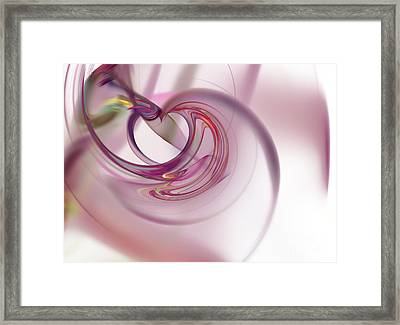Fractal Framed Print by Henrik Lehnerer