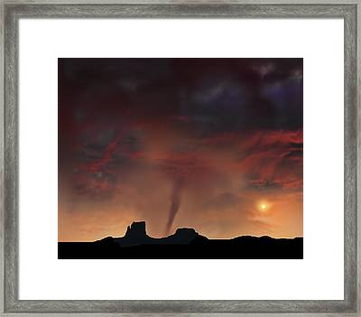 3884 Framed Print by Peter Holme III