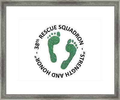 38th Rescue Squadron Framed Print