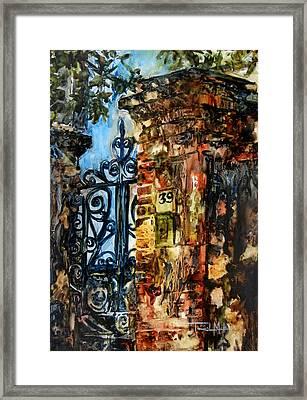 39 Church Street Framed Print by Trish McKinney