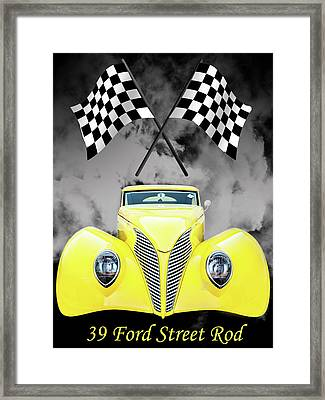 39 Ford Framed Print
