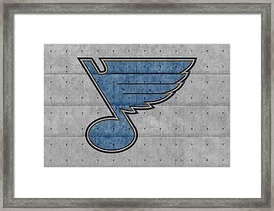 St Louis Blues Framed Print