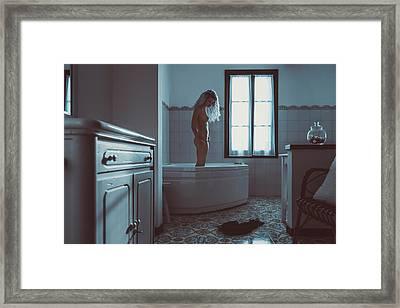 Tu M'as Promis Framed Print