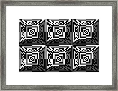 3d B2  Framed Print by Mike McGlothlen