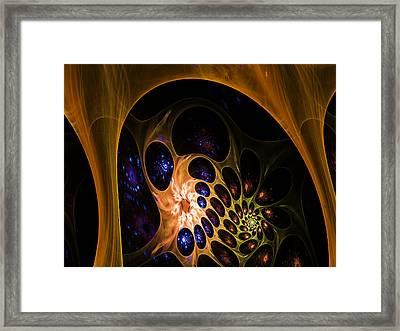 3d Chaotica Framed Print
