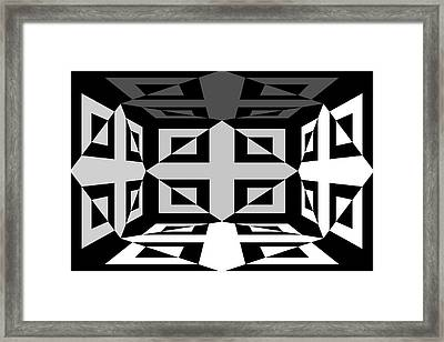 Framed Print featuring the photograph 3d Mg3d4w by Mike McGlothlen