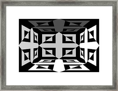 3d Mg3d4w Framed Print by Mike McGlothlen
