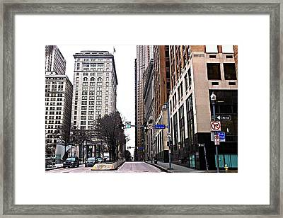 3rd Avenue Framed Print by Melinda Dominico
