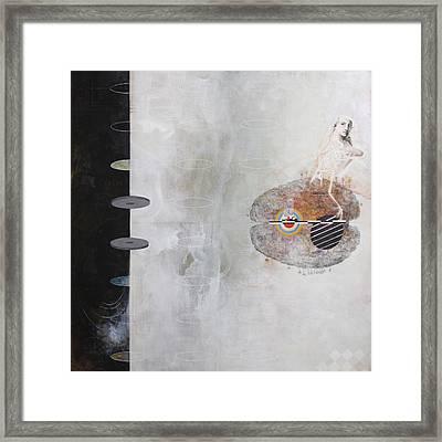 3rd Wheel Ghost Framed Print by Sandra Cohen