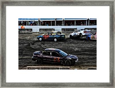 3x 28 Framed Print by Mike Martin