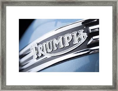1949 Triumph Trophy Framed Print