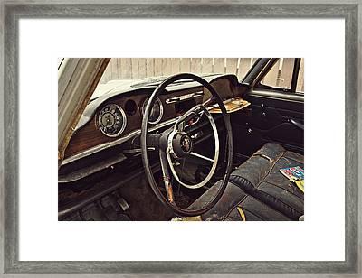 1964 Austin Westminster - Detail Framed Print