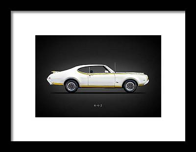 Oldsmobile 442 Framed Prints
