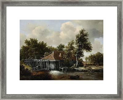A Watermill Framed Print