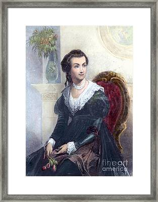 Abigail Adams (1744-1818) Framed Print