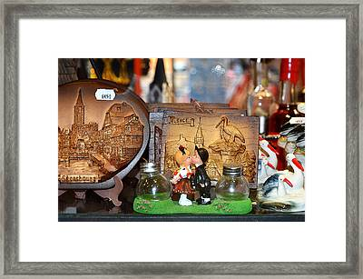 about LOVE. Framed Print by Andy Za