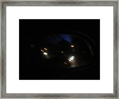 Abstract Framed Print by Victoria Wang