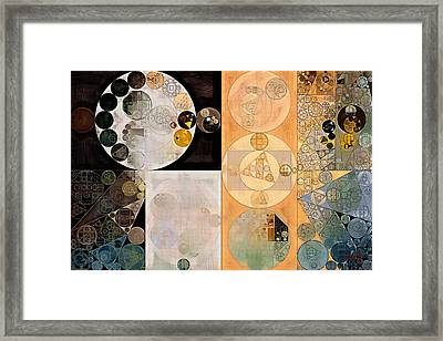 Abstract Painting - Pancho Framed Print