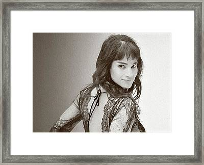 Actress And Dancer Sofia Boutella  Framed Print by Best Actors