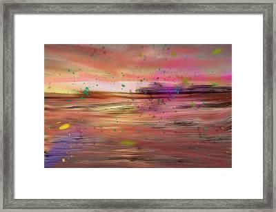 Alone Framed Print by Angela Aird