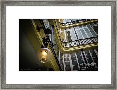 Framed Print featuring the photograph Apartment In The Heart Of Cadiz by Pablo Avanzini
