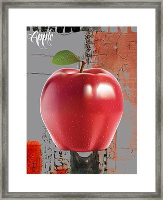 Apple Collection Framed Print by Marvin Blaine