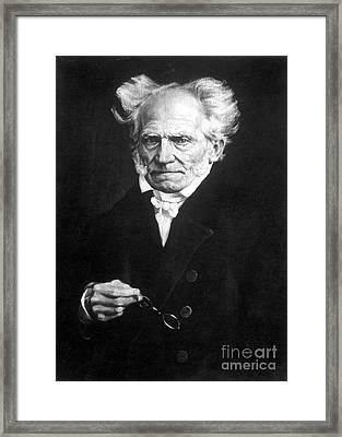 Arthur Schopenhauer Framed Print
