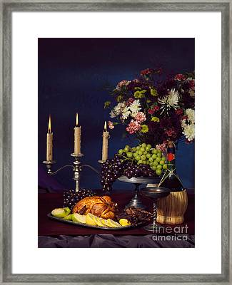 Artistic Food Still Life Framed Print by Oleksiy Maksymenko