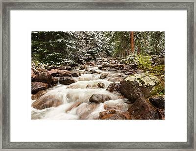 Autumn At Gore Creek - Vail Colorado Framed Print by Brian Harig