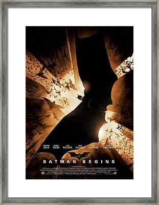 Batman Begins 2005 Framed Print