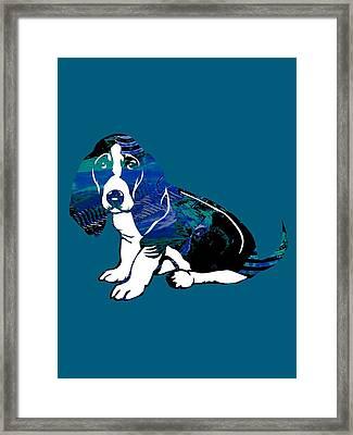 Beagle Collection Framed Print