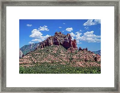 Beautiful Scenery Framed Print