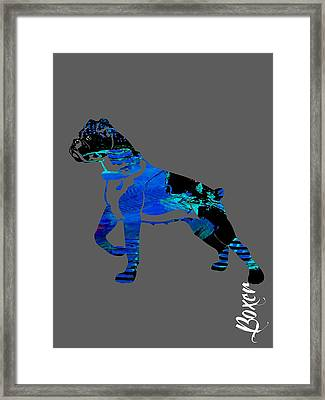 Boxer Collection Framed Print by Marvin Blaine