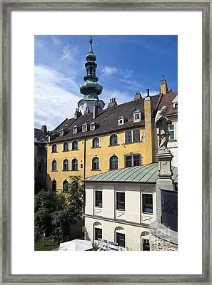 Bratislava Framed Print by Andre Goncalves