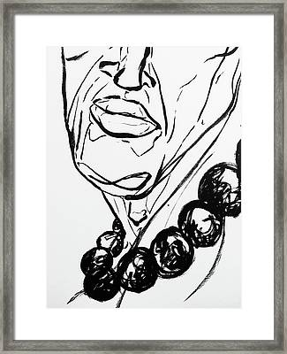 4 Framed Print by Brian Kendall James