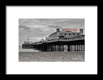 Brighton Pier Framed Prints