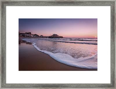 Broadstairs Sunrise Framed Print by Ian Hufton
