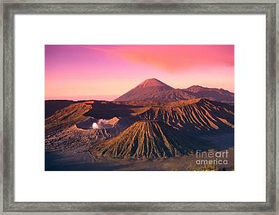 Bromo Tengger Semeru Framed Print by Gloria & Richard Maschmeyer - Printscapes