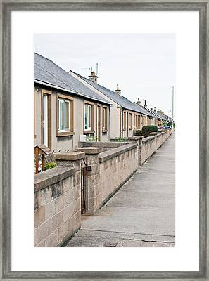 Bungalows Framed Print