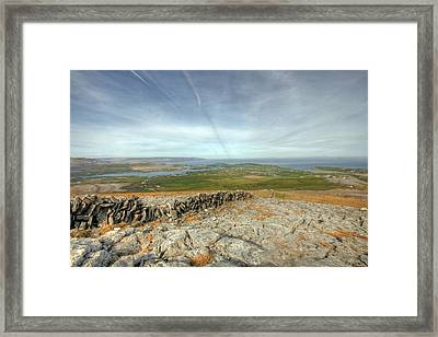 Burren View  Framed Print by John Quinn