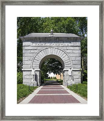 Camp Randall Memorial Arch - Madison Framed Print