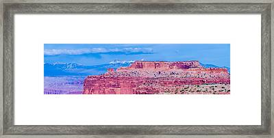 Canyonlands National Park Utah Framed Print
