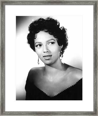 Carmen Jones, Dorothy Dandridge, 1954 Framed Print