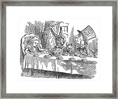 Carroll: Alice, 1865 Framed Print