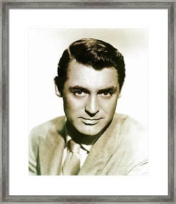 Cary Grant Hollywood Actor Framed Print