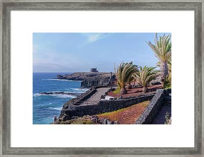 Castillo De Las Coloradas - Lanzarote Framed Print