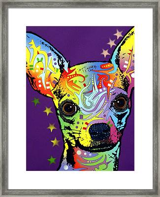 Chihuahua Framed Print by Dean Russo