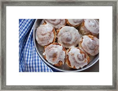 Cinnamon Buns Framed Print